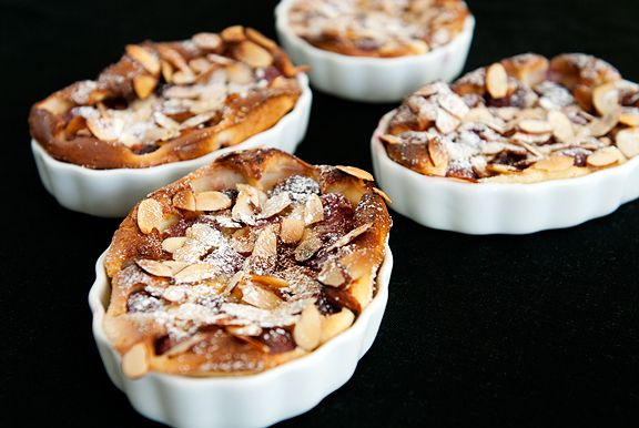 cherry-almond clafoutis recipe | use real butter...Do it yourself ...