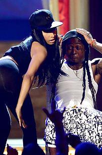 Lil Kim And Nicki Minaj Together Nicki Minaj And Lil Wa...