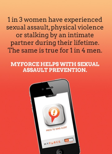 April is #SexualAssaultAwarenessMonth. Get safe, and get protection for your friends too.