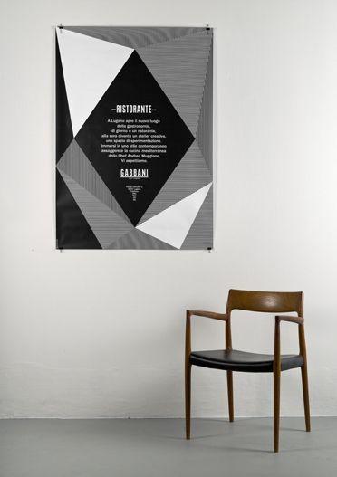 Designspiration — Gabbani ristorante : DEMIAN CONRAD DESIGN