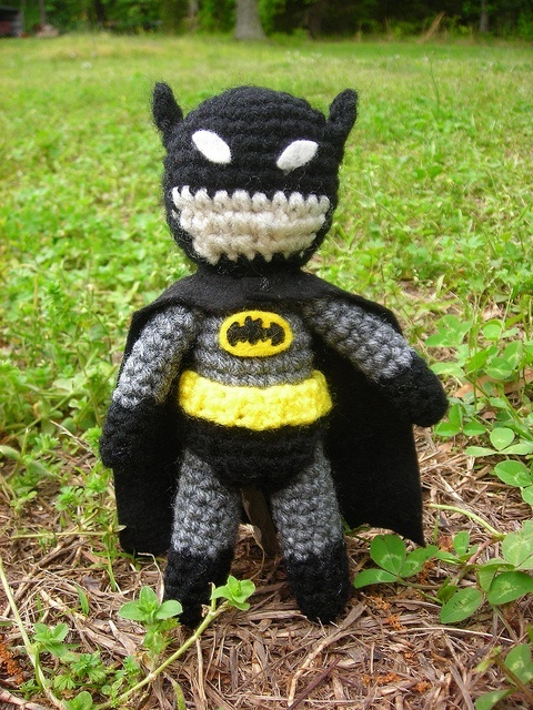 Amigurumi Crochet Batman : Crochet Batman amigurumi for the honey Pinterest