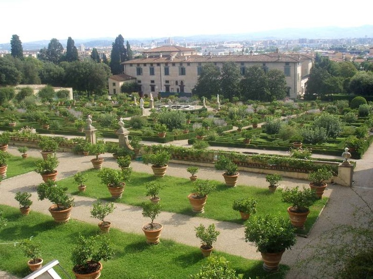 Villamedic italian renaissance garden gardens pinterest for Alexander isola