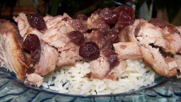 Crock Pot Cranberry Pork Roast You will love serving this tender melt ...