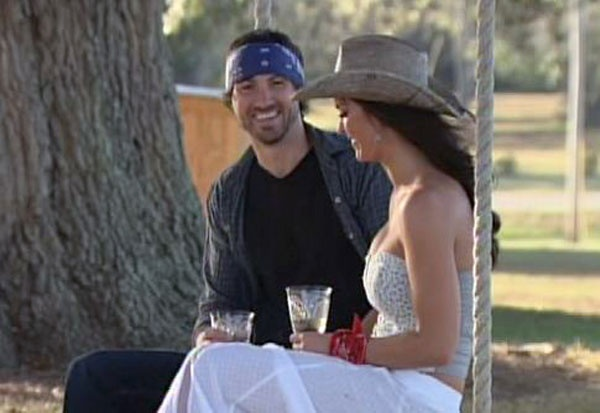 Paige and Jeremiah's date from the finale of Season 3 of Sweet Home Alabama