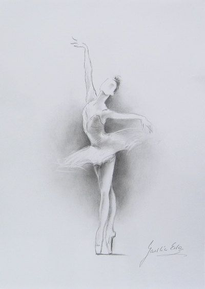 ballerina pencil drawing - photo #43