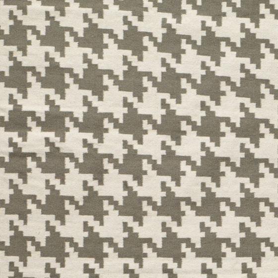 Houndstooth area rug