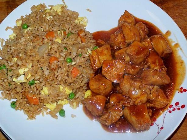 Bourbon Chicken | Recipe