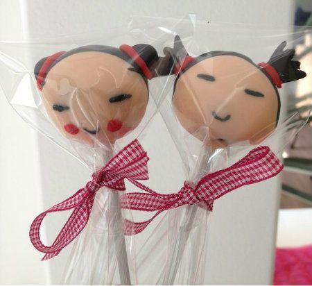 Pucca Cake Pops... soo cute!!!