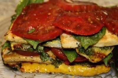 Grilled Vegetable Tofu Lasagna | Vegan Tofu | Pinterest