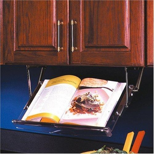 Under cabinet cookbook holder- Amazon.com
