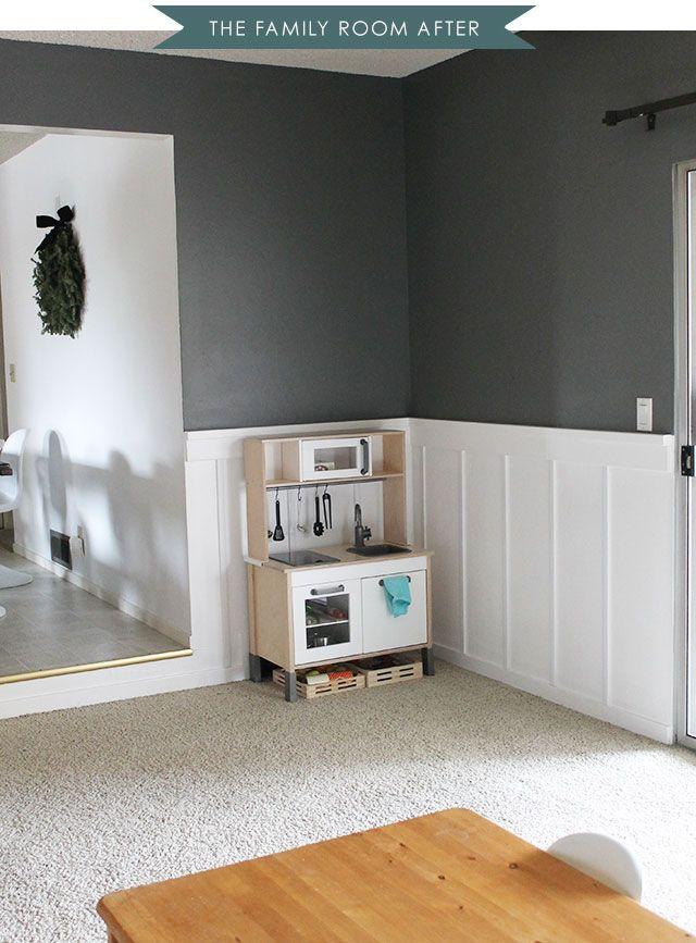 benjamin moore amherst gray for the home pinterest. Black Bedroom Furniture Sets. Home Design Ideas