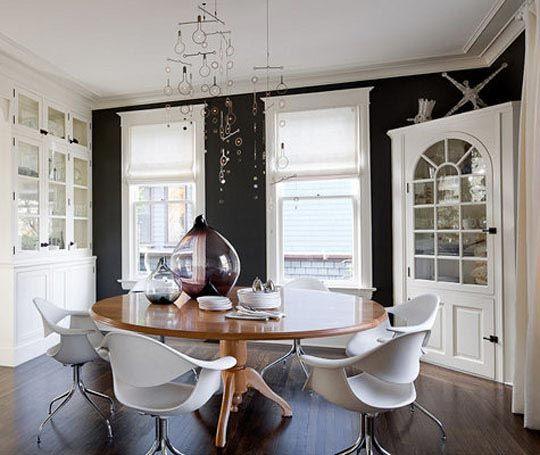 Modern small dining room inspiration dining rooms for Small modern dining room