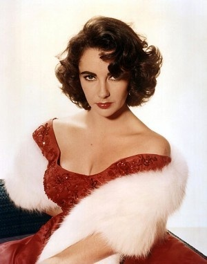 Elizabeth Taylor, in smoulder mode