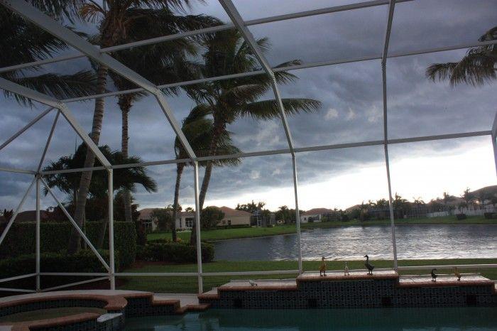 Florida afternoon thunderstorm