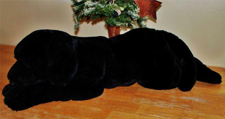 Animal Alley Black Lab Dog Plush Stuffed Toy