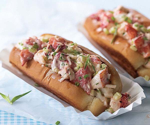 Lobster Rolls - first lobster roll....summer can officially begin!