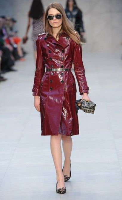 ohmygawd- Coat. Burberry, London Fashion Week 2013.
