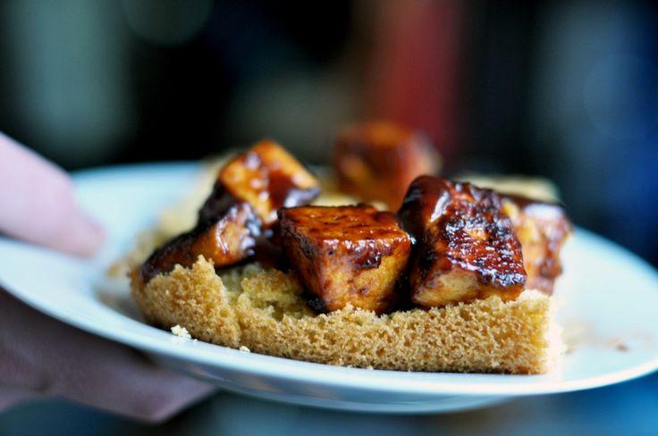 barbeque tofu with cornbread   Favorite Recipes   Pinterest