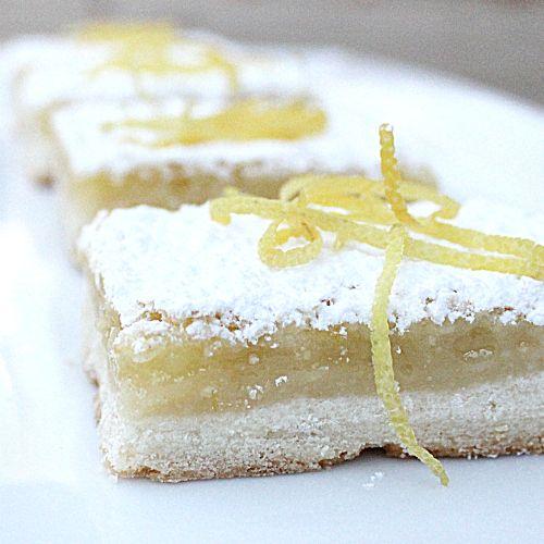 Lemon Squares | cookies/bars/candy | Pinterest