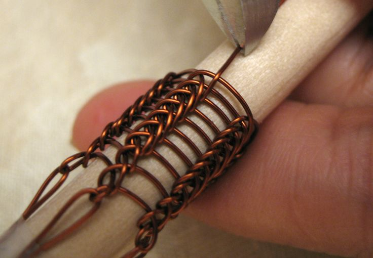 Knitting With Wire Instructions : Pin by julie harnisch on knitting crocheting with wire