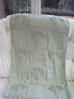 Apple Tree Blanket - Free Pattern