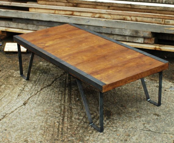 Vintage Industrial Pallet Style Coffee Table