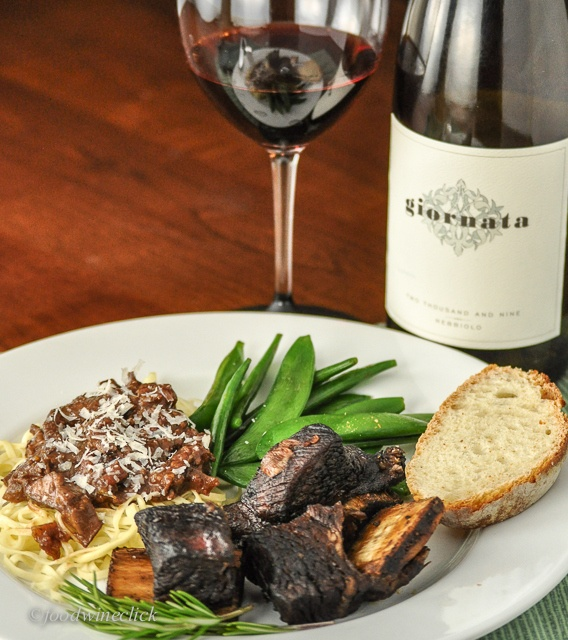 Cabernet Braised Short Ribs With Swiss Chard And Orecchiette Recipe ...