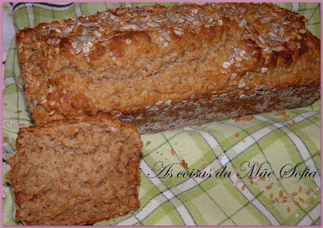 Quick honey and oat bread | As Coisas da Mãe Sofia | Pinterest