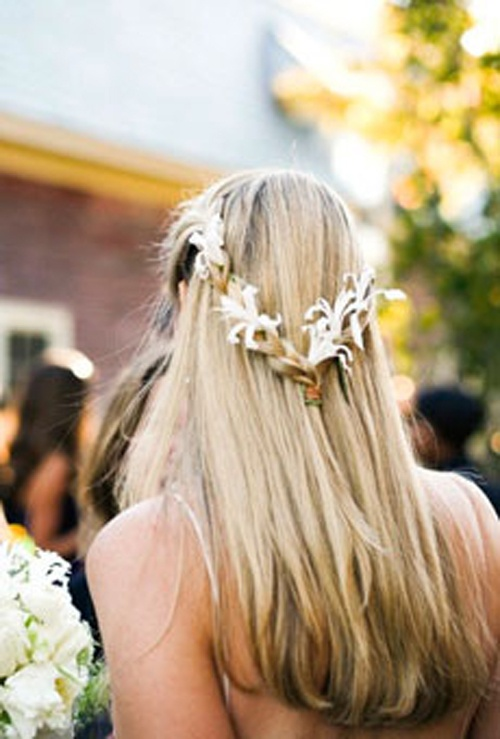 s curl hairstyle : Rustic Wedding Hairstyle Rustic Weddings & Inspiration Pinterest
