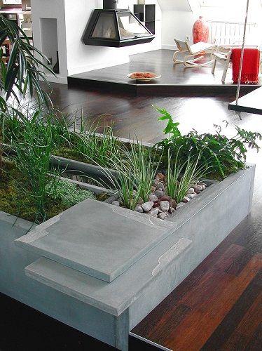 Indoor zen garden concrete design zen gardens pinterest for Indoor zen garden designs