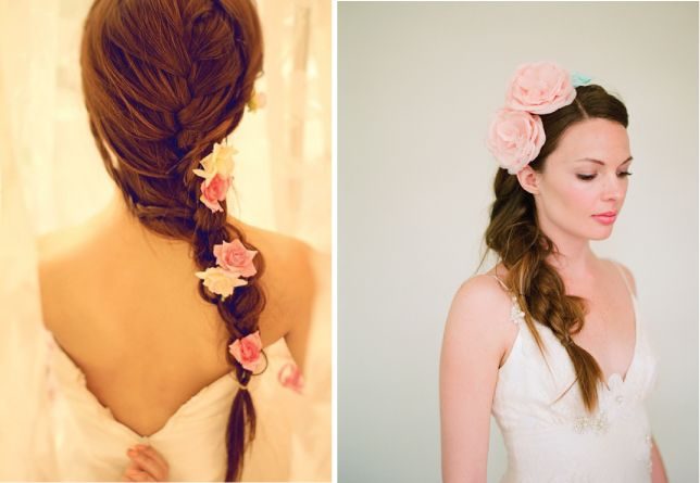 wedding-hair-styles-loose-braid.jpg (644×445)