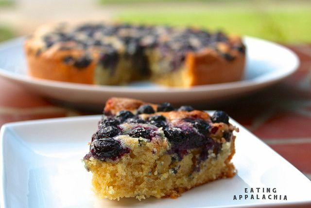 Lemon Blueberry Yogurt Cake | Yummy Things | Pinterest