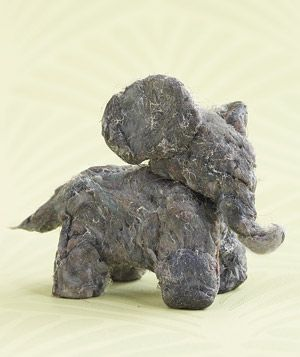 Turn dryer lint into modeling clay