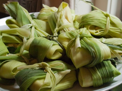 sweet corn humitas | Beautiful food | Pinterest