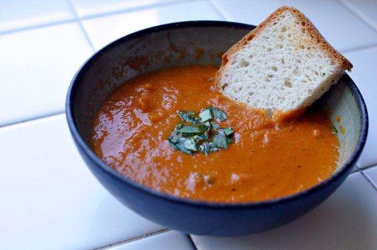 Gluten Free Tomato Basil Soup | Food: Soups | Pinterest
