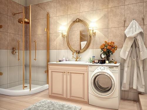 Washing Machine In Bathroom Hmm Decorating Ideas Pinterest