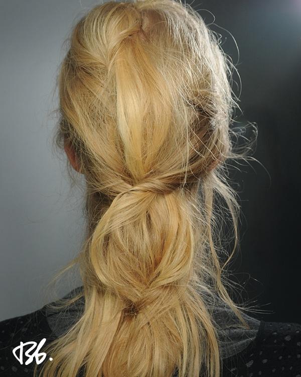 Fall/Winter Fashion Week. Hair by Bb. Stylist Laurent Philippon. #fashionweek #fashion #hair #bumbleandbumble #style