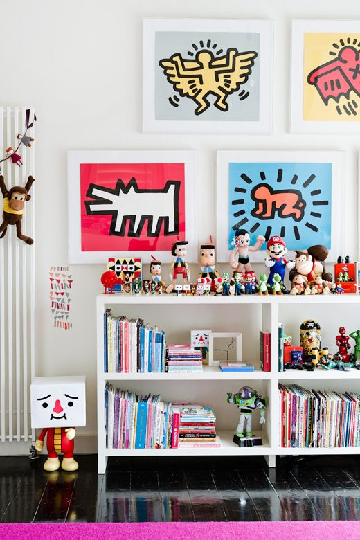 kids room - the Melbourne home of Natalie Bloom via thedesignfiles.net