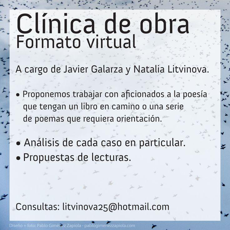 @@ NOTICIAS: Anuncian clínica de obra presencial y virtual