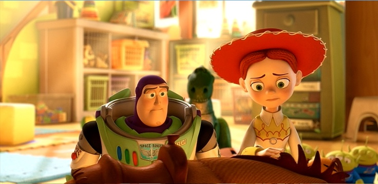 Toy Story 3 Jessie And Buzz