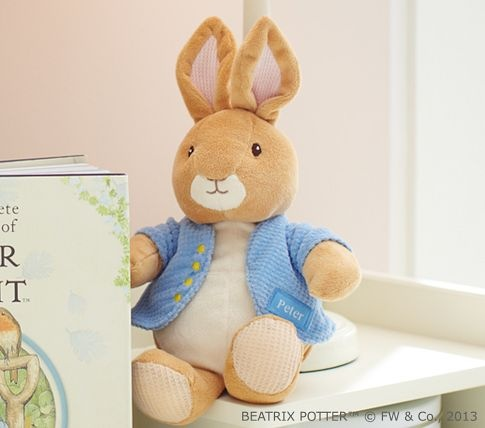 Peter rabbit plush pottery barn kids easter crafts amp recipes