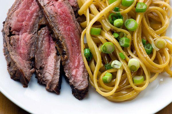 Teriyaki Steak and Sesame Noodles #framedcooks