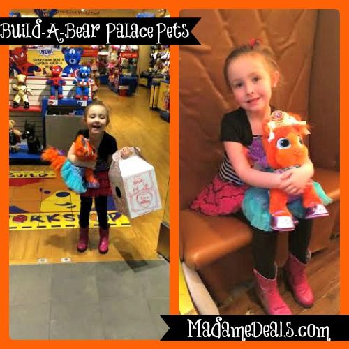 New Palace Pets from Build-A-Bear for your little Princess! (Review)