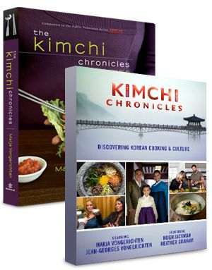 The Kimchi Chronicles - Love the dvd set and the companion cookbook is ...