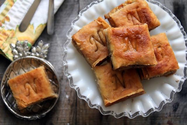 almond five spice baklava recipe | homemade gifts | Pinterest