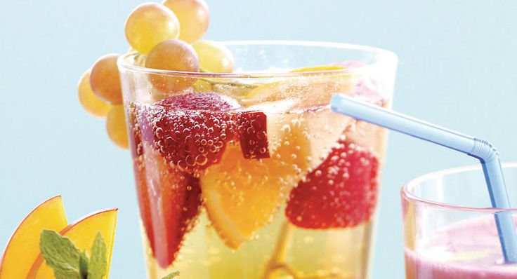 Fresh Fruit Spritzer | Recipe