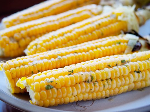 Sweet corn with cilantro-lime butter | Eat, Drink, Be Merry | Pintere ...