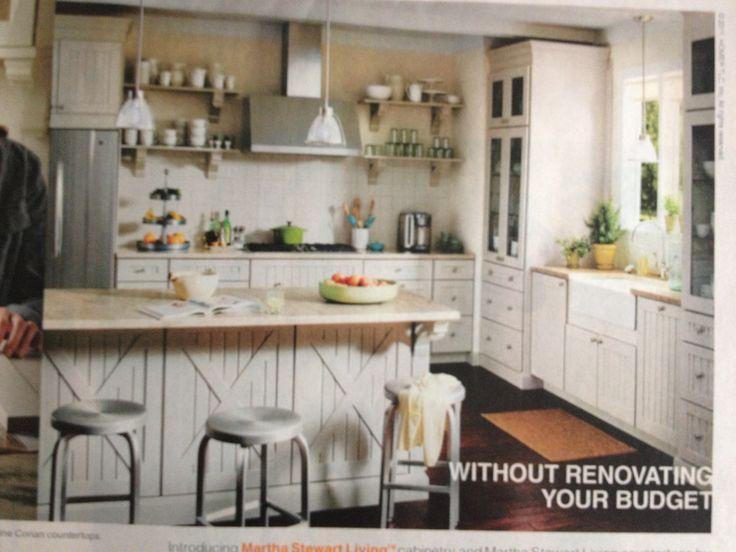 Martha Stewart Kitchen Inspiration  Kitchens  Pinterest