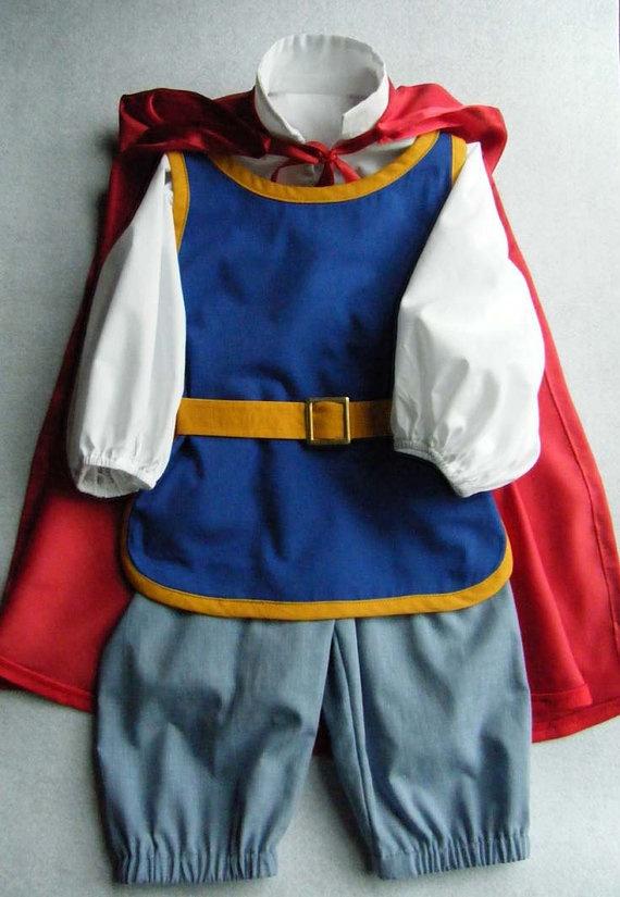 snow white s prince charming sz 2 to 6 yrs