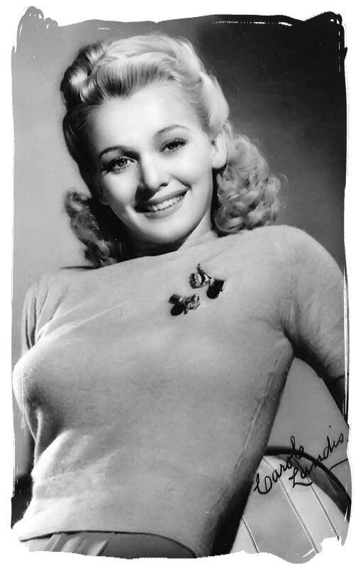 Carole Landis actrice